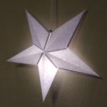 星のランプシェードを手作り!型紙で簡単にペーパーオーナメント