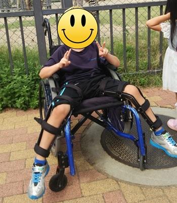 ペルテス病・車椅子・装具